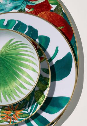 Фото №6 - Интервью с создателями новой коллекции фарфора Passifolia от Hermès