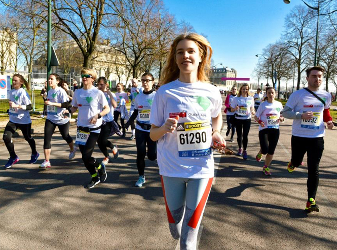 Фото №1 - Бегущие сердца: благотворительный забег Натальи Водяновой