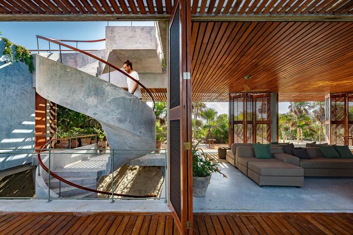 Фото №4 - Бетонный дом на побережье Карибского моря в Тулуме