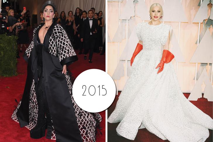 Эволюция стиля Леди Гаги: 2015 год