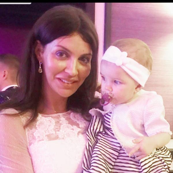 Фото №2 - Папина копия: жена Андрея Аршавина впервые показала дочь