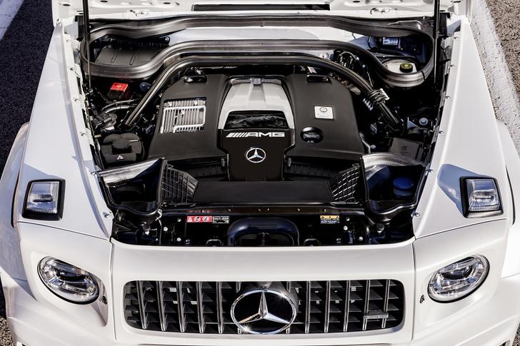 Фото №3 - Новый Mercedes-AMG G 63 умеет забираться на скалы