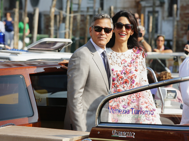 Фото №14 - Джордж и Амаль Клуни: история любви