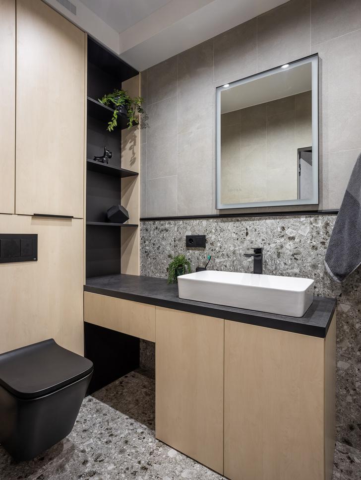 Фото №9 - Графика и минимализм: квартира для студента в Уфе 76 м²