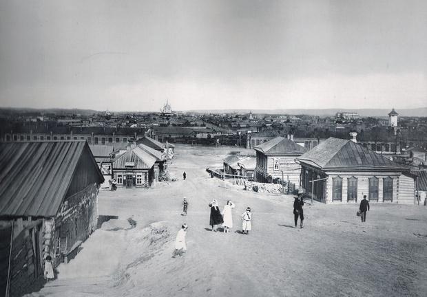 Так выглядели первые улицы будущей Николаевской слободы