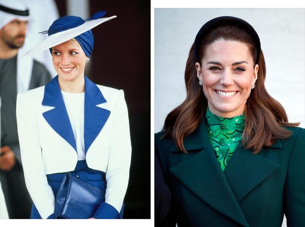 Фото №1 - Неповторимая Кэтрин Уолкер: любимый дизайнер принцессы Дианы и Кейт Миддлтон
