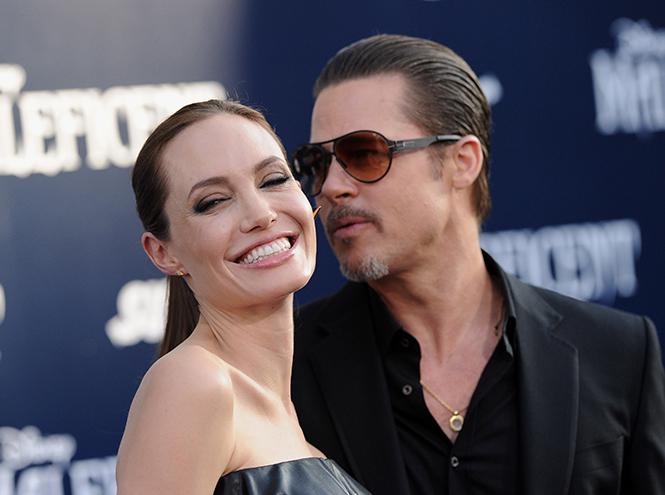 Фото №2 - Стратегия развода Бранджелины: 2:0 в пользу Джоли