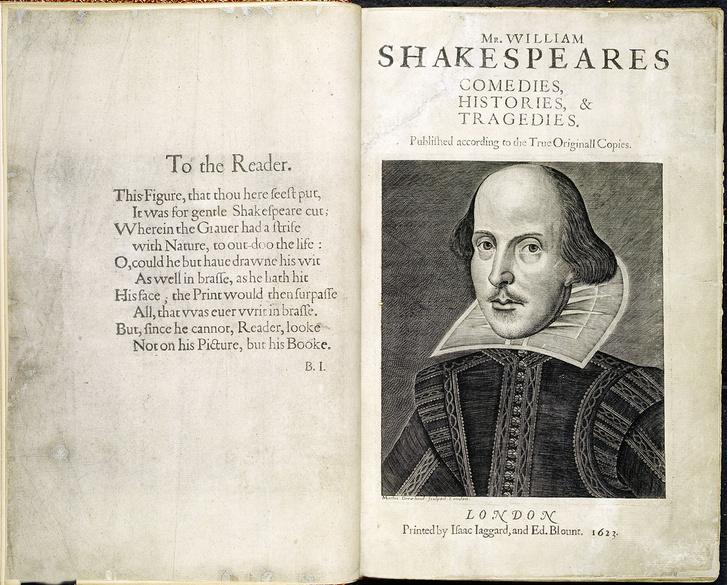 Фото №1 - 455 лет назад... Родился Уильям Шекспир