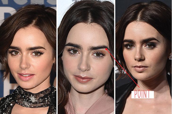 Лили Коллинз макияж