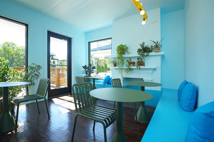 Фото №8 - Голубое кафе Tipico Coffee в Буффало