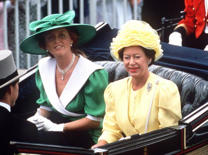 Фото №1 - Что сказала принцесса Маргарет после развода принца Эндрю и Сары Фергюсон