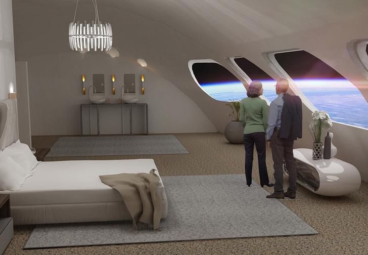Фото №1 - Концепт: как будет выглядеть отель, расположенный в космосе