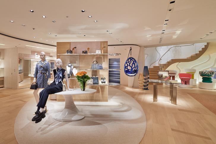 Фото №3 - Флагман Louis Vuitton в Токио: проект Джуна Аоки и Питера Марино