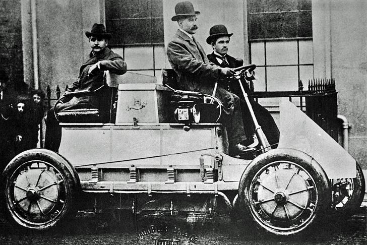 Фото №2 - Хорошо забытое старое: как появились первые гибридные авто