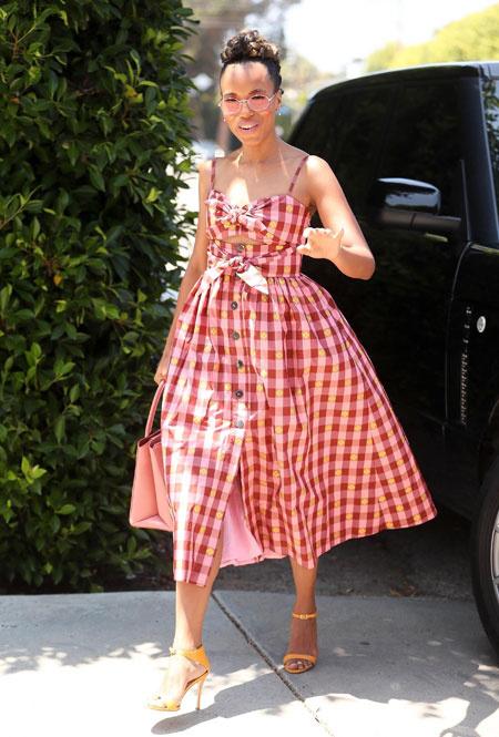 Керри Вашингтон в Лос-Анджелесе