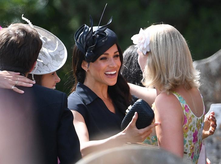 Фото №2 - Меган Маркл и принц Гарри на свадьбе друзей