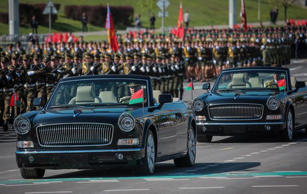 Фото №1 - Как белорусы у китайцев парадный автомобиль купили