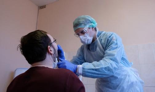 Фото №1 - В каких медучреждениях Фрунзенского района можно сдать анализ на коронавирус