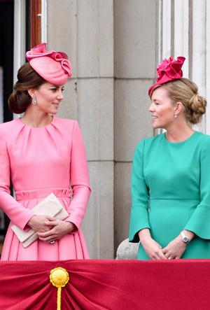 Фото №6 - Королевский отряд: герцогиня Кейт и ее три самых близких подруги в БКС