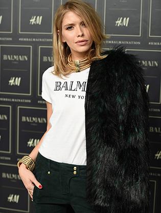 Фото №13 - В Нью-Йорке показали коллекцию Balmain для H&M