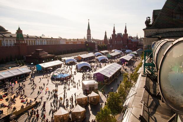 программа фестиваля «Красная площадь» для детей