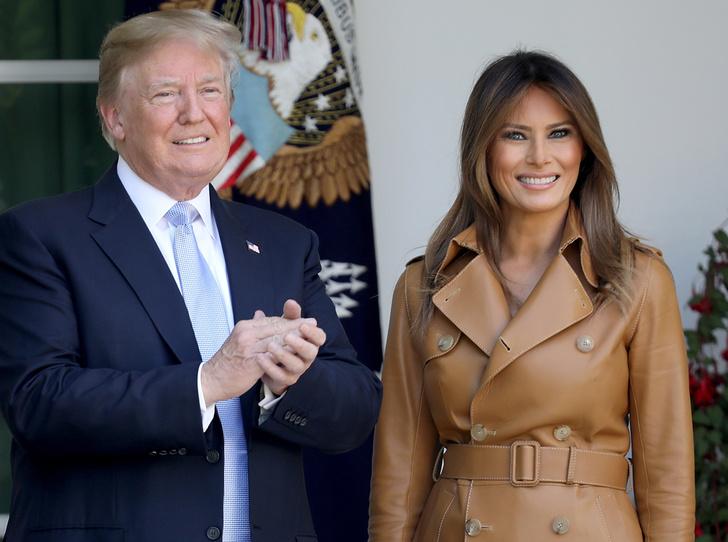 Фото №1 - Мелания Трамп предпочитает сторониться мужа