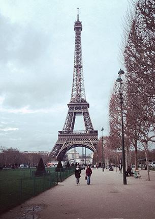 Учеба в Париже