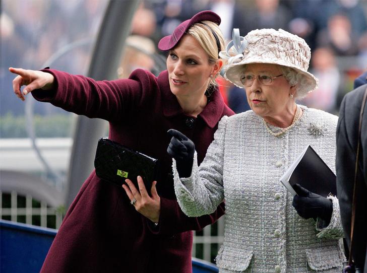 Фото №1 - Почему дочь принцессы Анны оказалась Королеве ближе четы Кембриджских