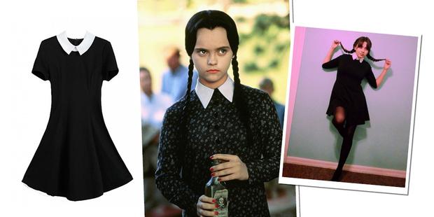 Фото №1 - Для Хэллоуина тебе понадобится только одно платье! Не веришь? Смотри