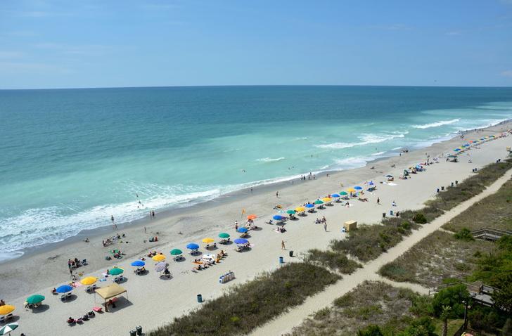 Фото №1 - Определены самые популярные пляжи США