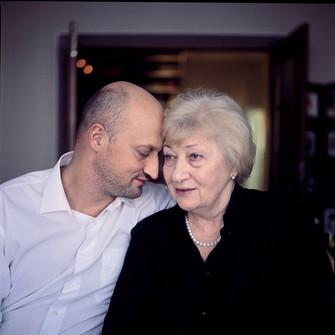 Гоша Куценко с мамой