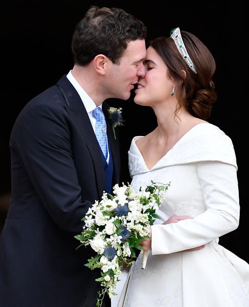 Фото №66 - Свадьба принцессы Евгении и Джека Бруксбэнка