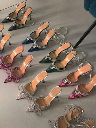 Фото №2 - Хрустальные туфельки Mach & Mach: грузинский бренд, покоривший Кайли Дженнер, Кэти Перри и других мировых модниц