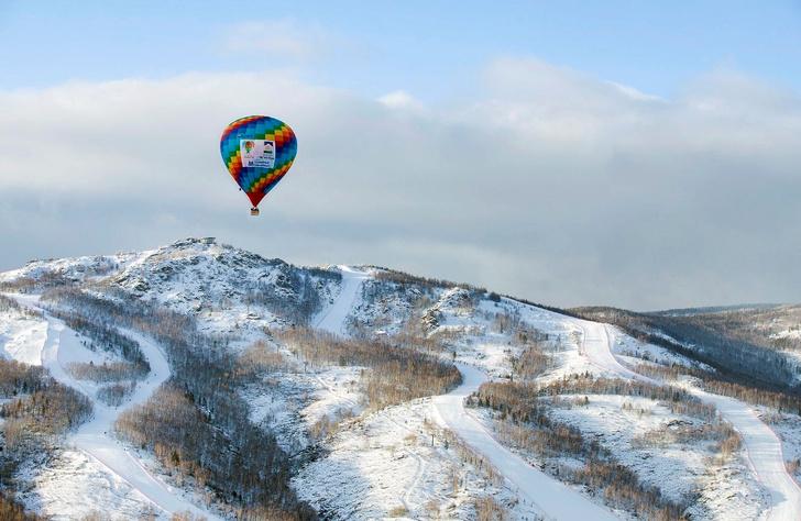 Фото №1 - Зона комфорта: за что воздухоплаватели любят уральскую зиму