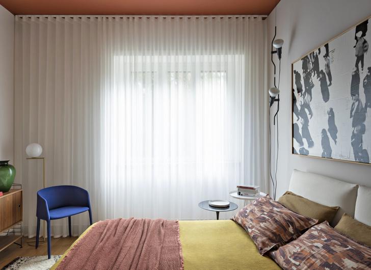 Фото №8 - Интерьер с обложки: квартира в Милане в стиле 1960-х