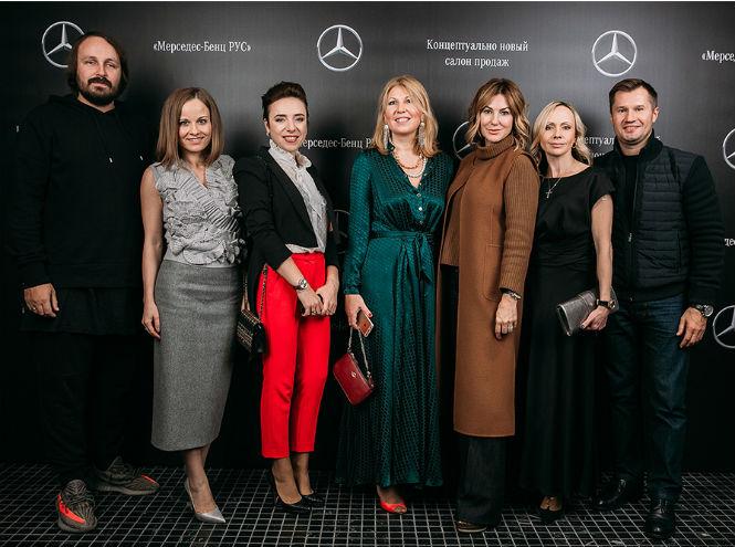 Фото №2 - Открытие нового шоурума Mercedes-Benz