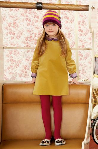 Фото №8 - Золотая карусель: лукбук осенне-зимней детской коллекции Gucci 2016/17
