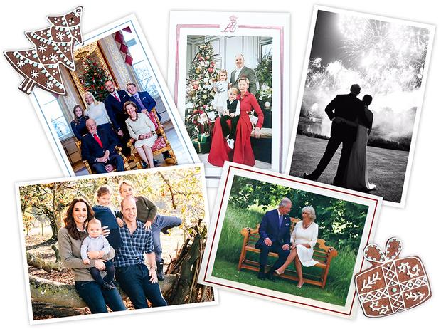 Фото №1 - Самые удачные (и долгожданные) рождественские королевские открытки 2018 года