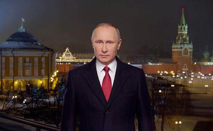 Фото №1 - 7 новогодних обращений Путина, которые нам запомнились