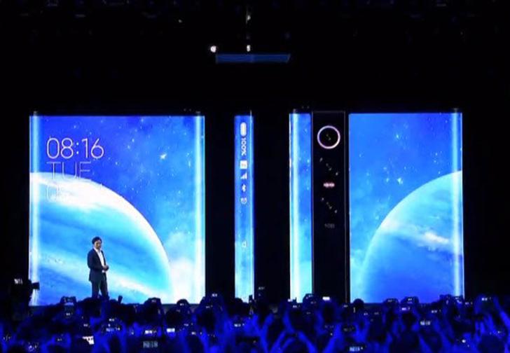 Фото №1 - Xiaomi представила смартфон Mi Mix Alpha, почти полностью состоящий из дисплея