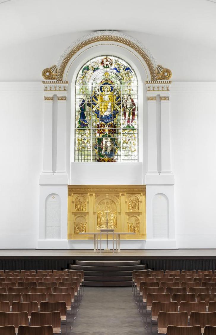 Фото №3 - Джон Поусон провел реконструкцию церкви Святого Иоанна в Хакни