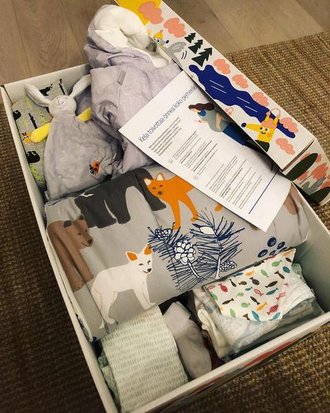 Фото №2 - Почему финские дети спят в коробке?