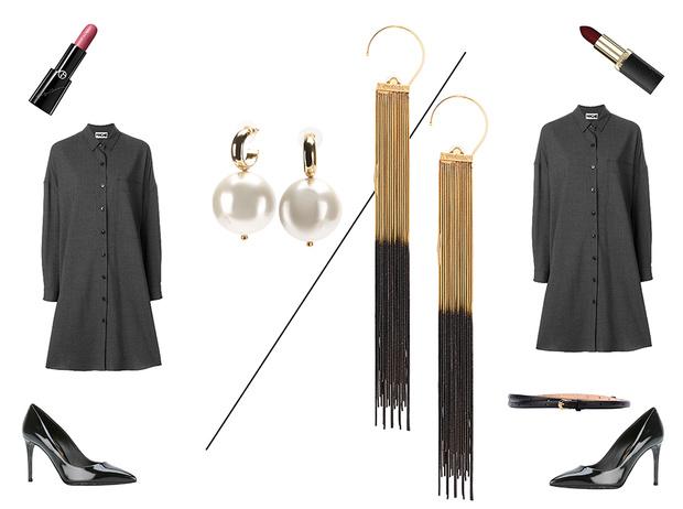 Фото №16 - 5 простых советов, как превратить строгий офисный костюм в наряд для корпоратива