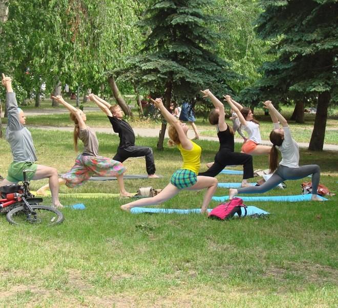 Афиша Омска, йога, тренажеры, фитнес
