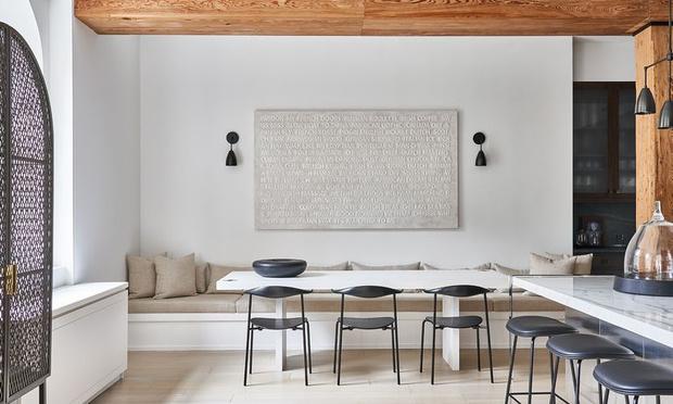 Фото №3 - Модная деталь: банкетки и скамейки в столовой