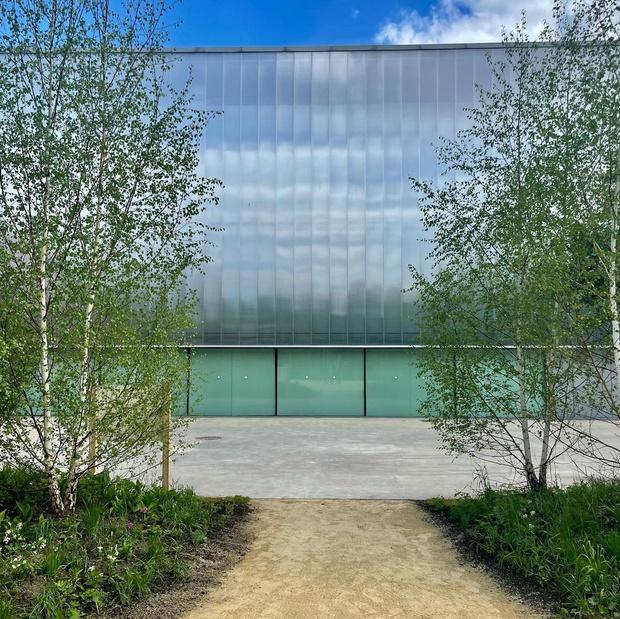 Фото №1 - Рядом с музеем Гараж открылся сад для медитаций