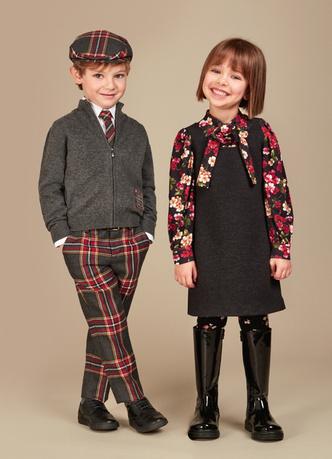 Фото №11 - Модные школьники: детская коллекция Dolce&Gabbana осень-зима 16/17