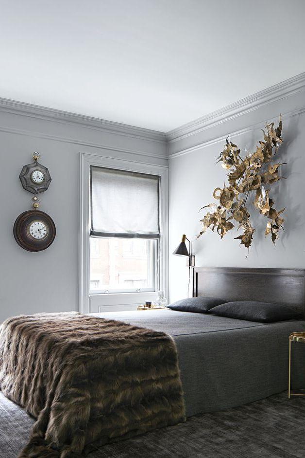 Фото №11 - Стена над изголовьем кровати: 10 идей декора