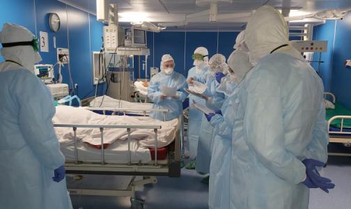 Фото №1 - 150 дней в ковиде. Петербургская больница готовится к октябрьскому пику заболеваемости
