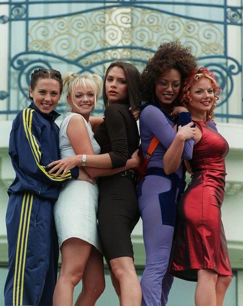 Участницы группы Spice Girls в 90-е фото